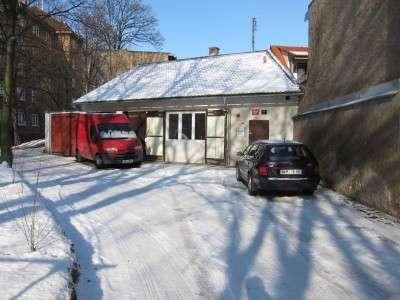 Kancelář v zimě
