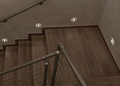 svetla schody